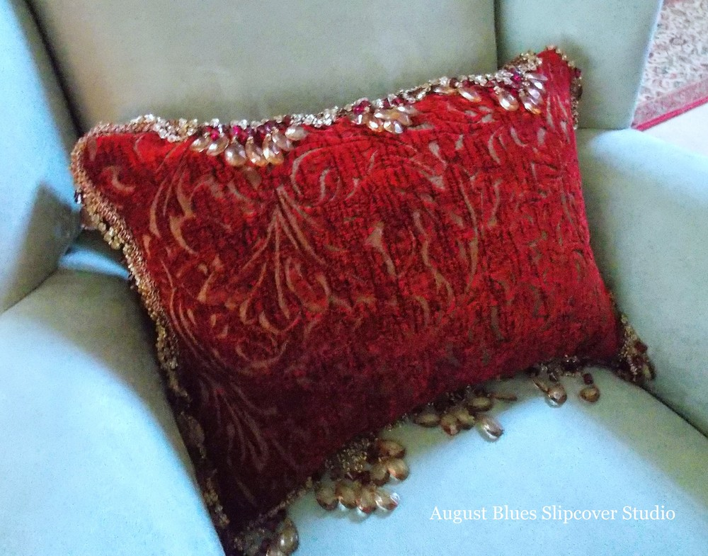 August Blues - Accent Pillow