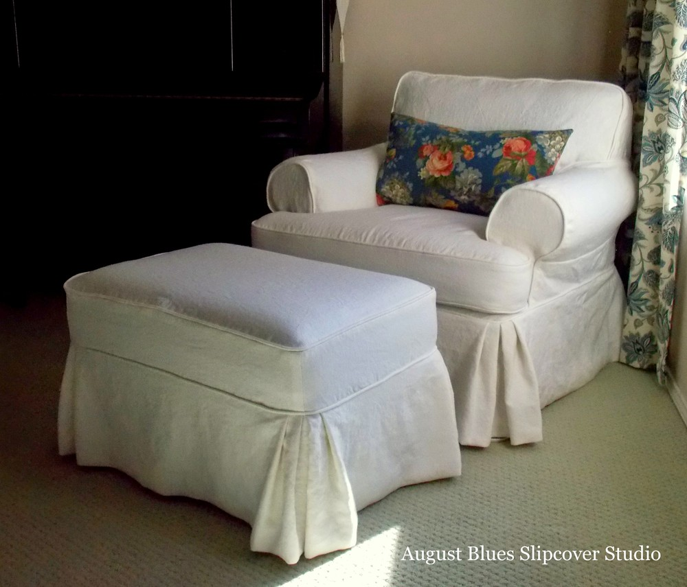 August Blues - Linen Slipcover After1