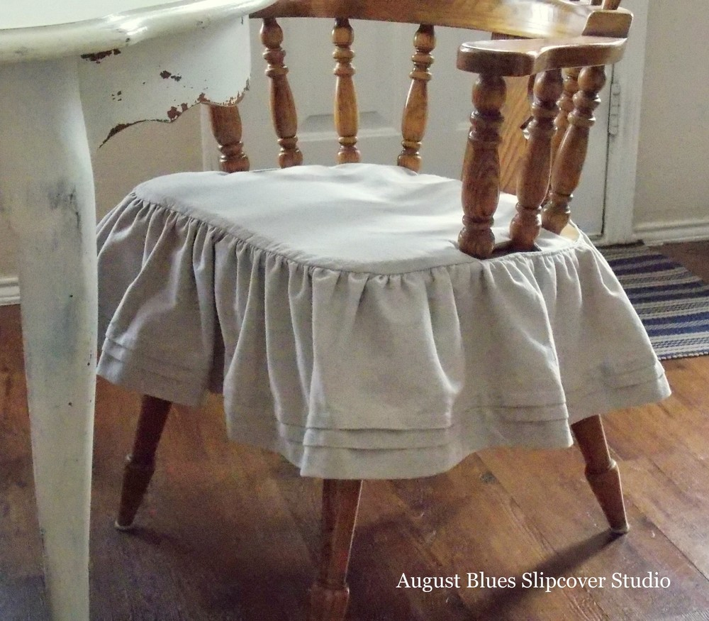 August Blues - Arm Chair Skirt2