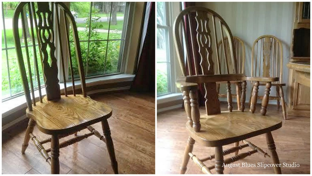 August Blues - Dinig Chairs Before