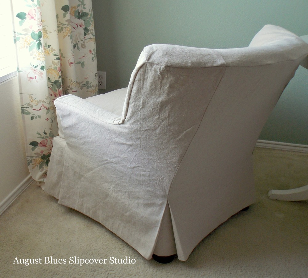 August Blues - Slipcover Back