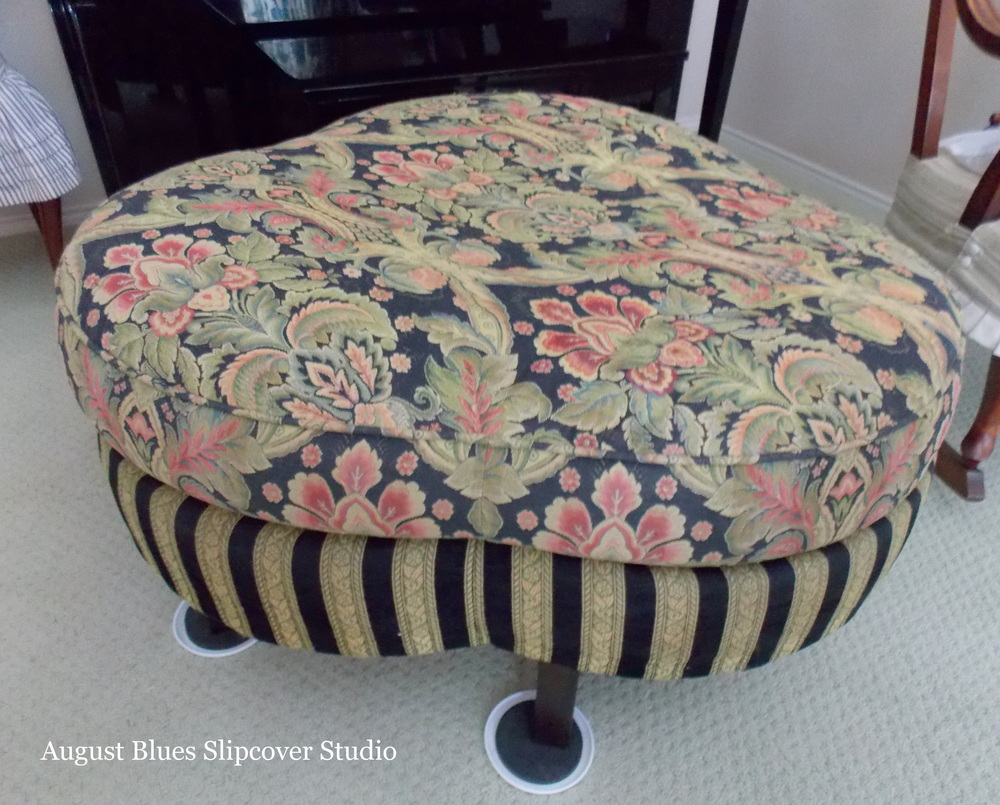August Blues - Ottoman Before