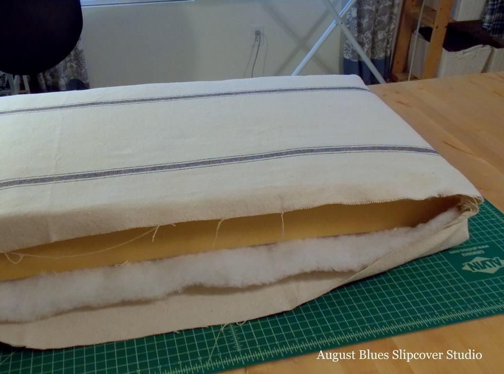 French Mattress Cushion Tutorial — August Blues