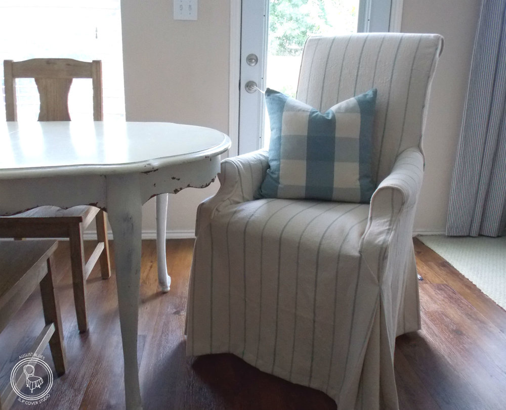 Now These Chairs Have A Fresh New Look, Perfect For Their New Home At The  Lake!