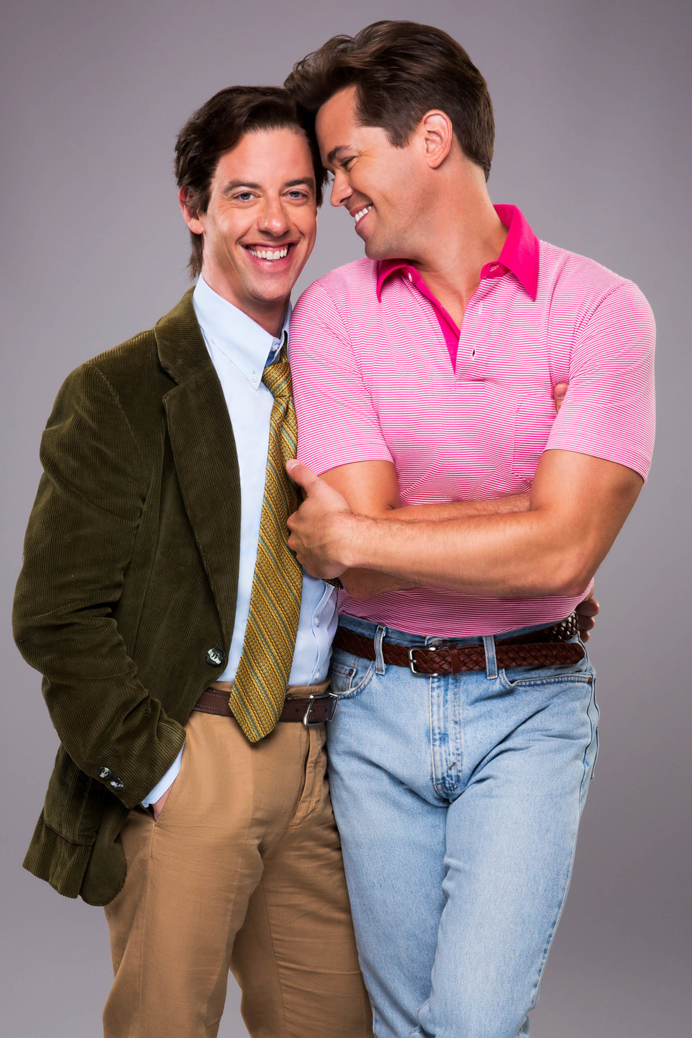 Christian Borle and Andrew Rannells