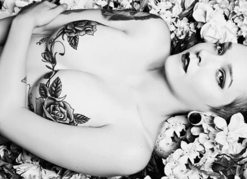 Flirty florals.