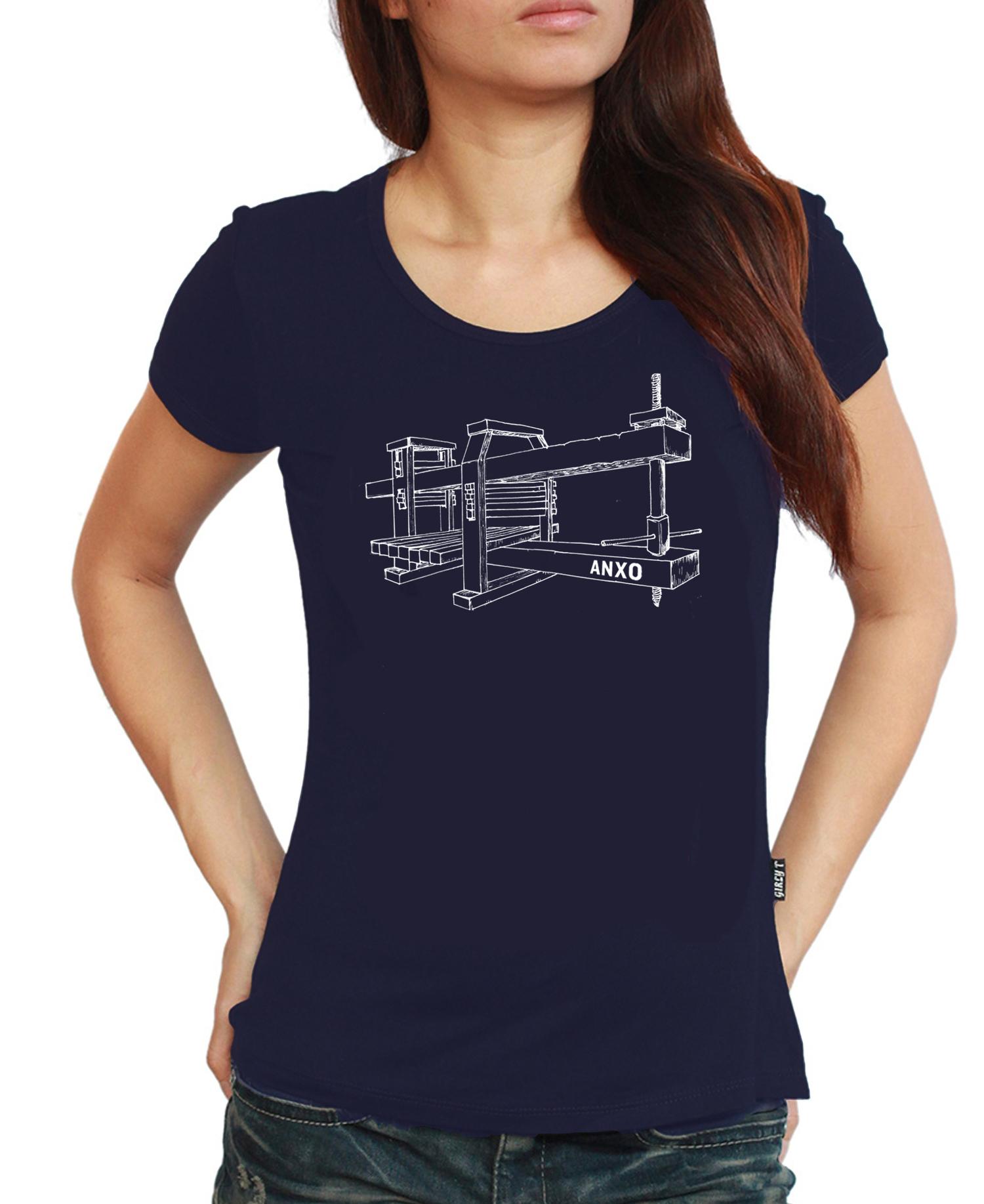 Black t shirt womens - Cider Press Tshirt Women