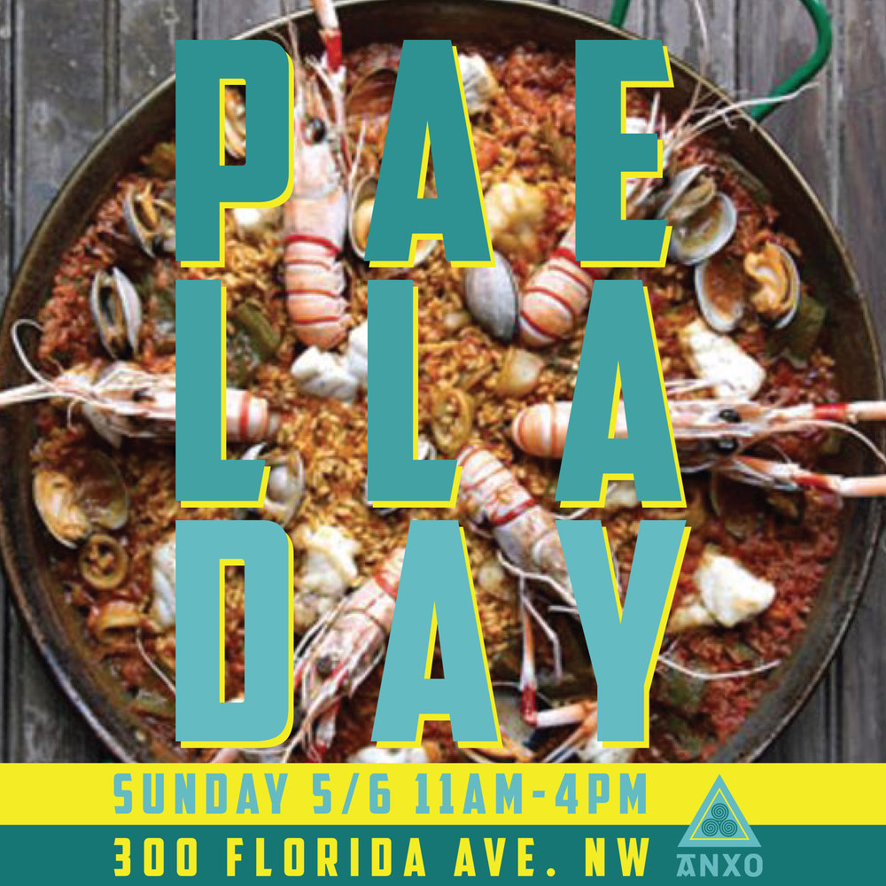 Join us on the patio as Chef Alex Vallcorba prepares multiple different traditional paellas from 11am-4pm!