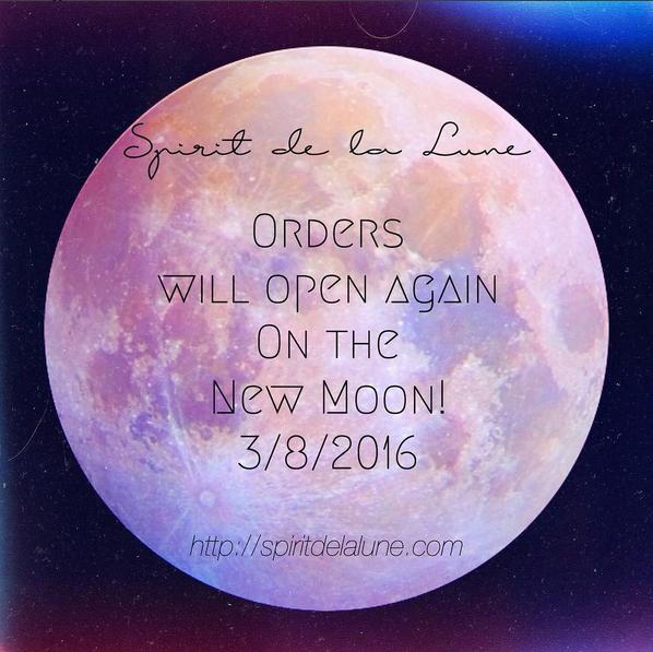 Spirit de la Lune Orders