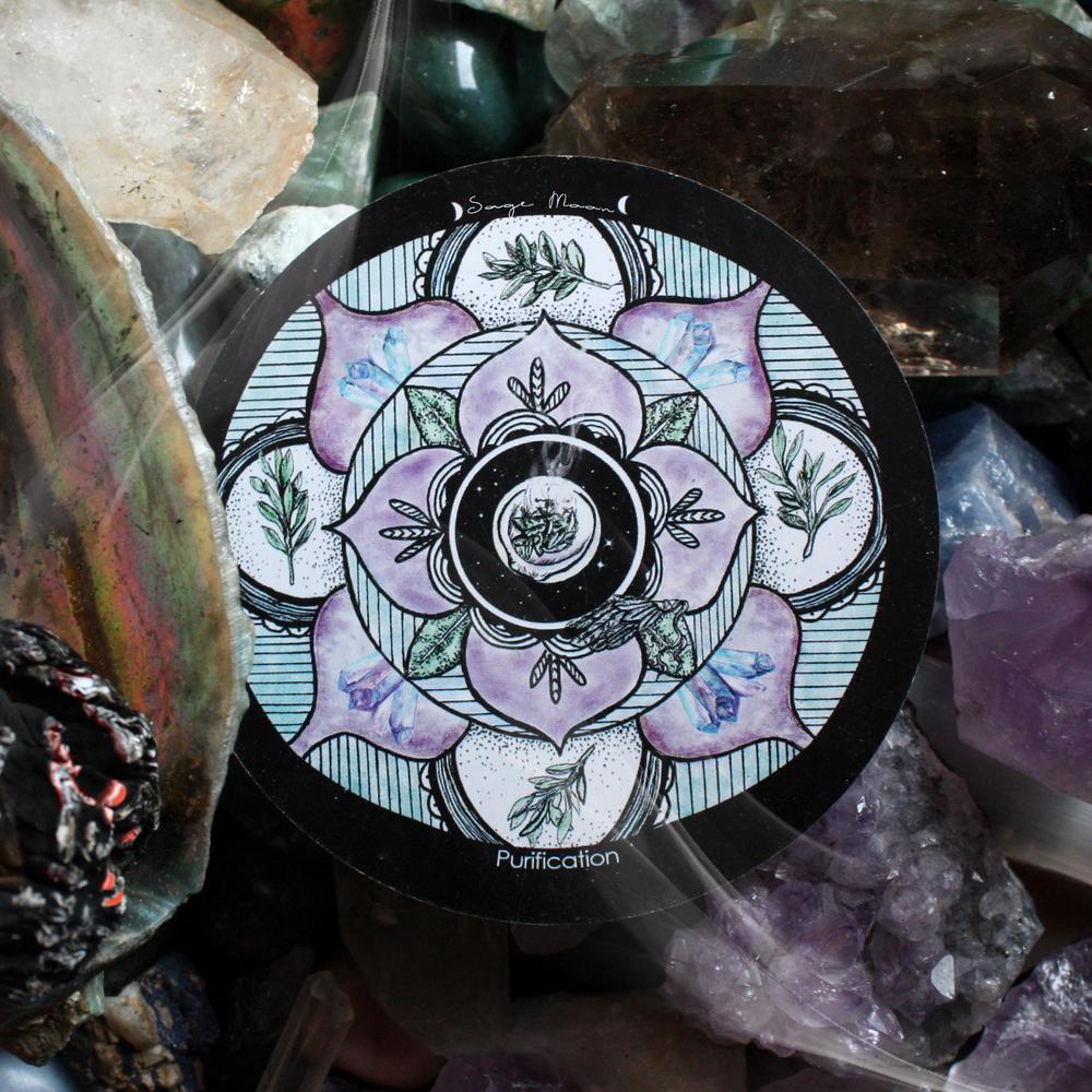 Sage Moon Mandala Spirit de la Lune