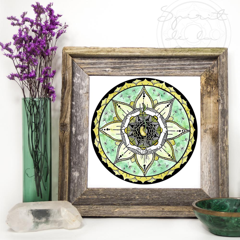 Seed Moon Mandala