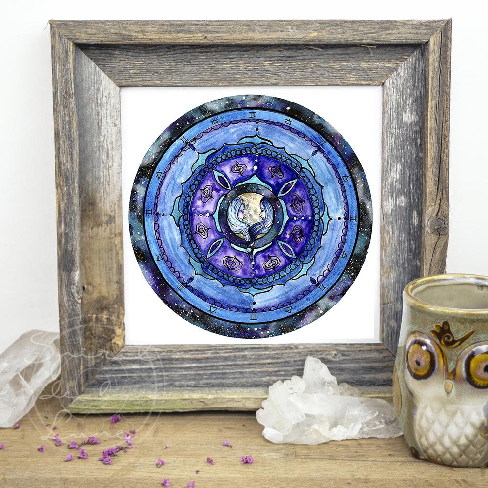 Gemini Mandala | Spirit de la Lune