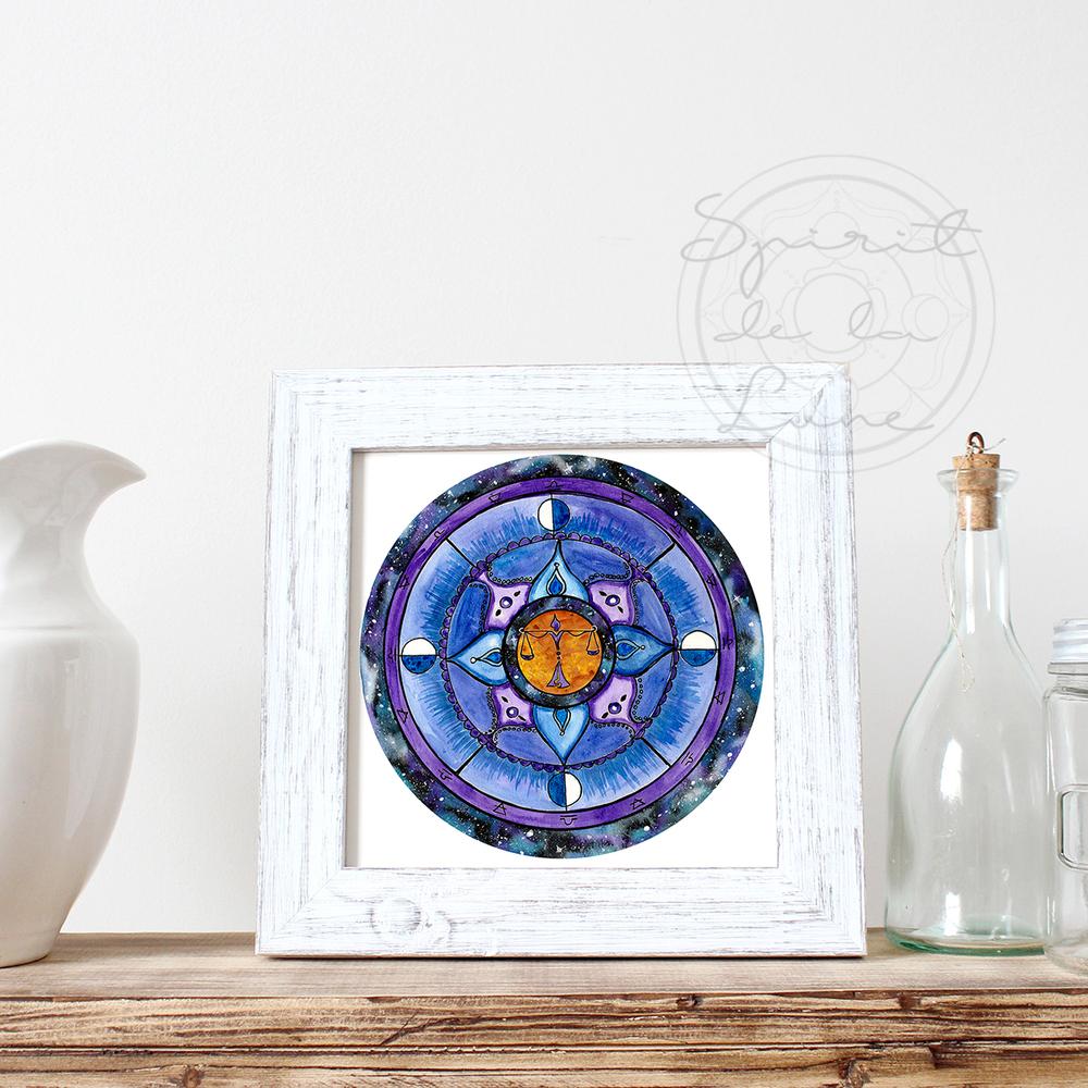 Libra Mandala | Spirit de la Lune