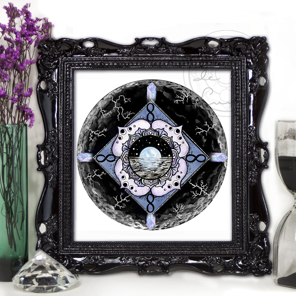 Blue Moon Mandala | Spirit de la Lune