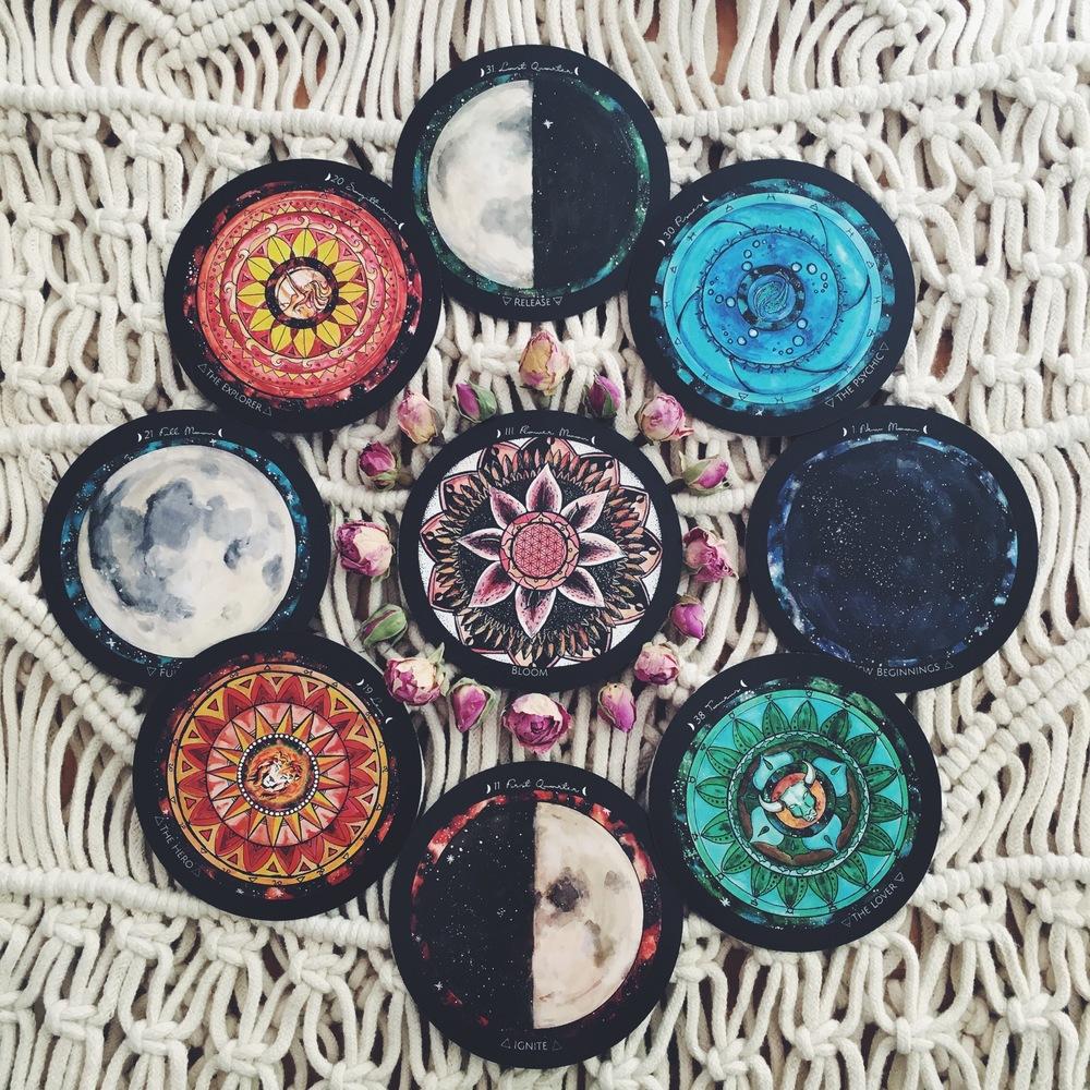Flower Moon cycle - Spirit de la Lune