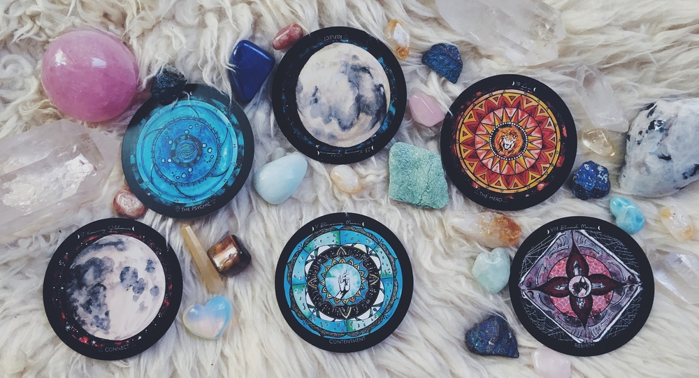 Blessing Moon Spread - spirit de la lune