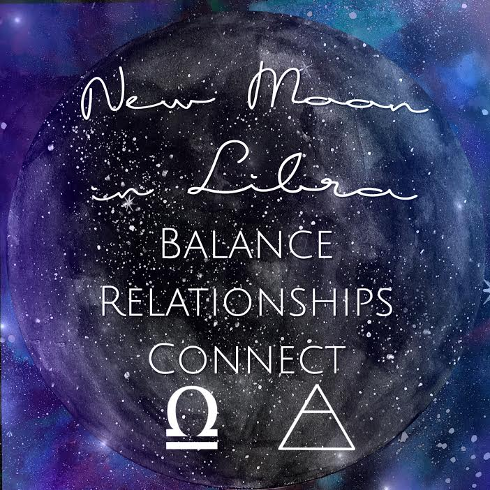 New Moon in Libra | Spirit de la lune