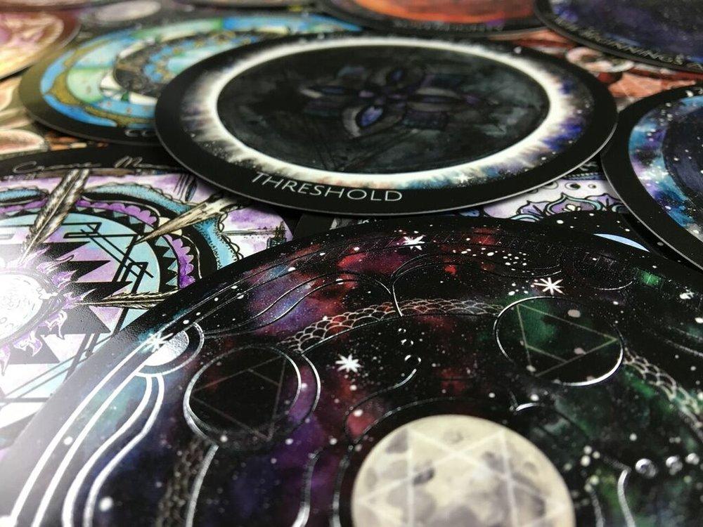 Spirit de la Lune Silver Printing