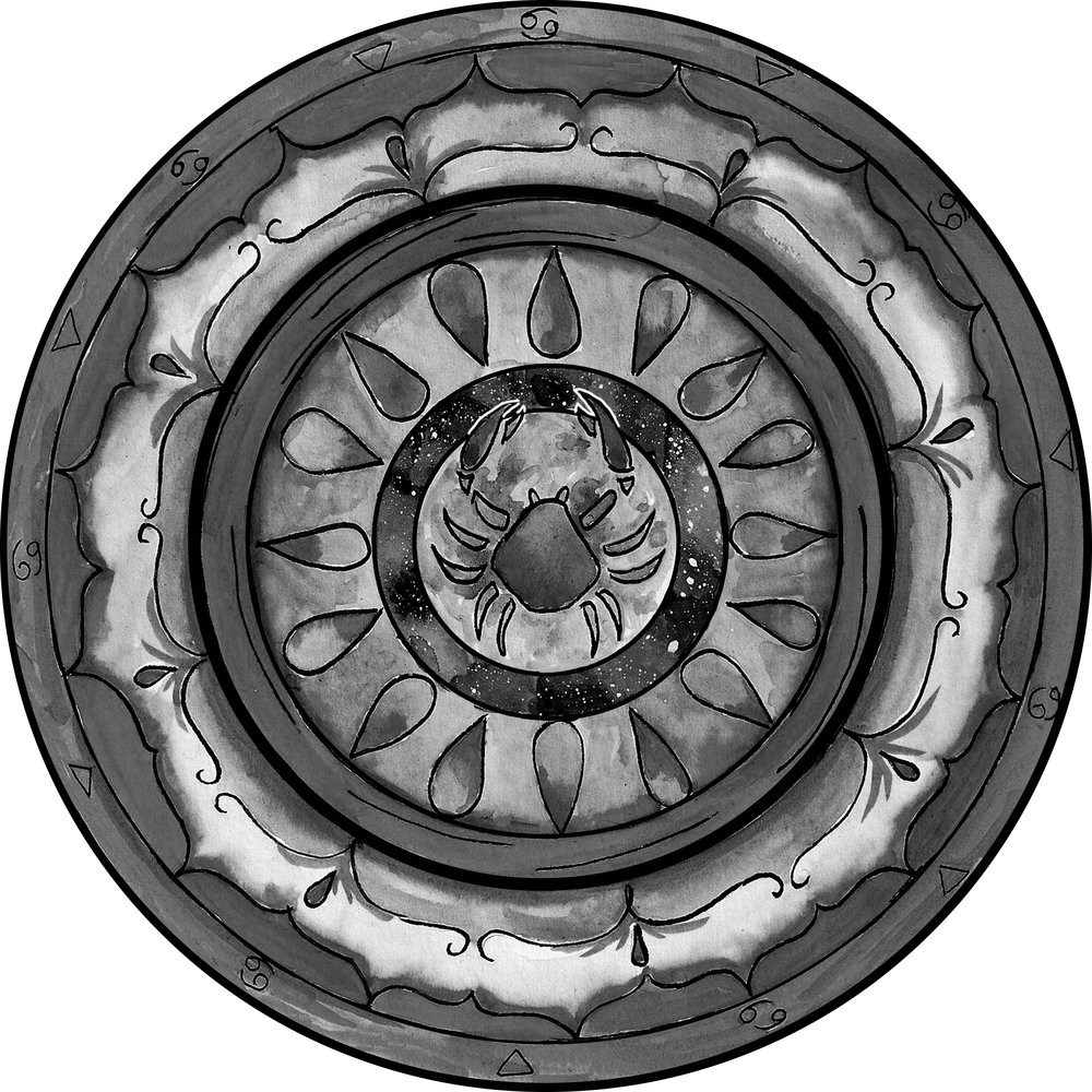 Cancer Mandala BW.jpg
