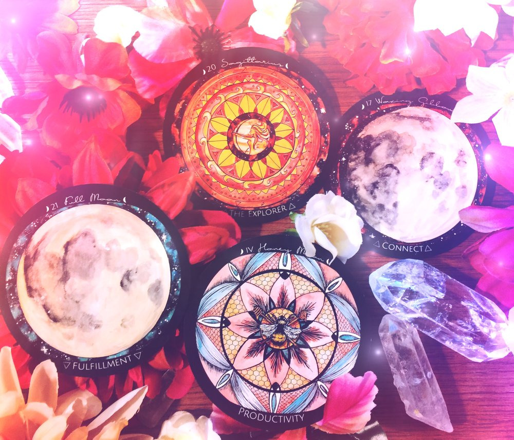 Full Moon in Sagittarius Honey Moon | Spirit de la Lune