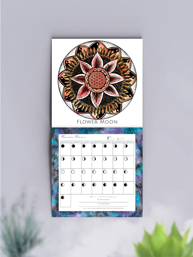 2018 Spirit de la Lune calendars
