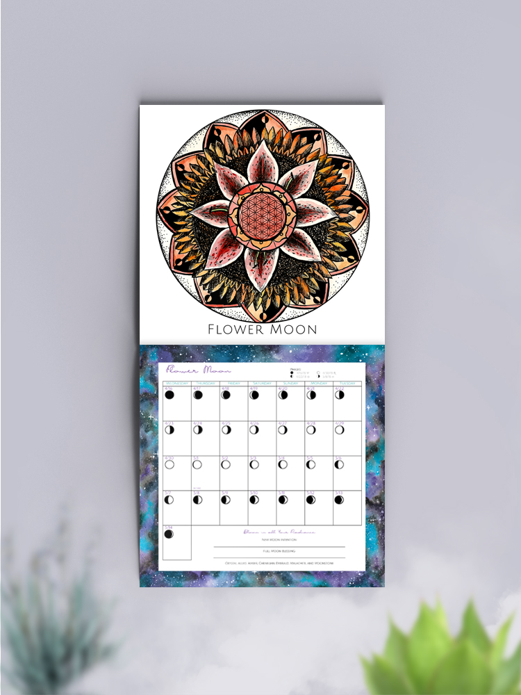 Wall Calendar Spirit de la Lune