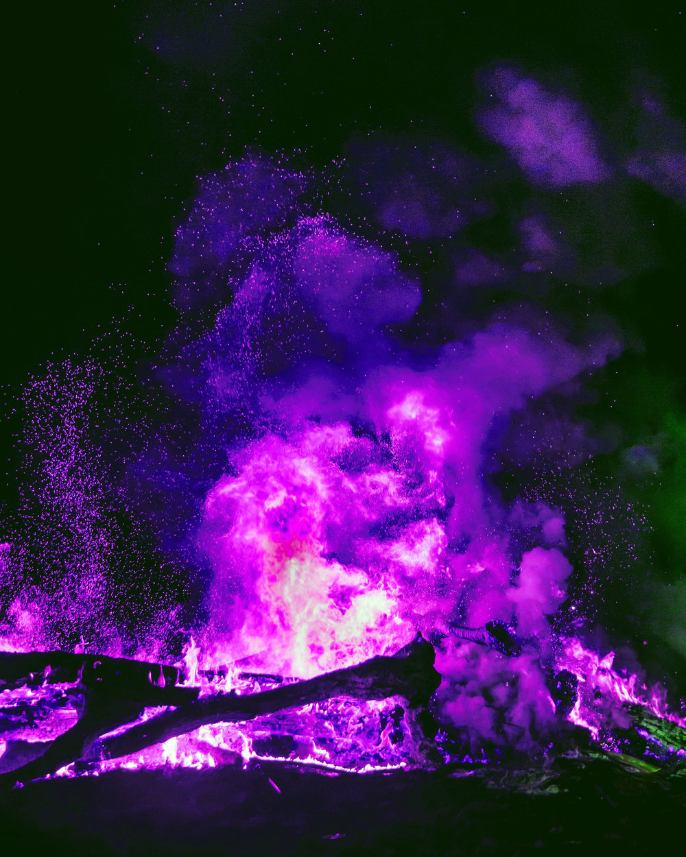 Violet Flame Cord Cutting | Spirit de la Lune