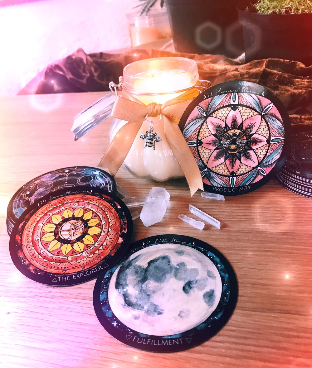 Spirit de la Lune Beeswax Candle Making Honey Moon Ritual