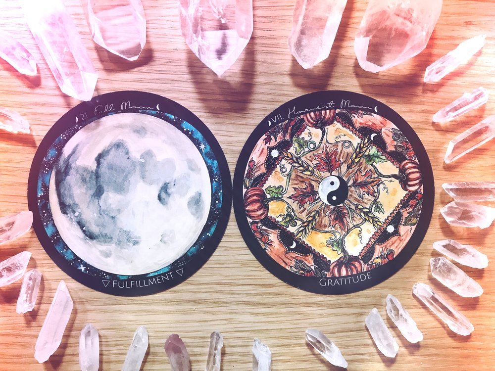 Full Harvest Full | New Moon Energy Reading | Spirit de la Lune