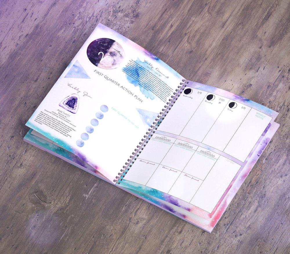 Spirit de la lune 2019 tune to the moon planner