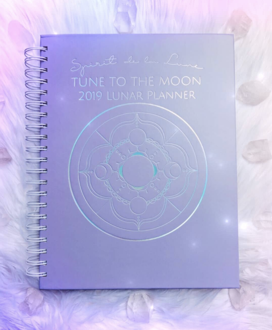 Spirit de la Lune Lunar Planners are shipping and available!