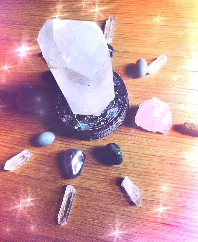 Spirit de la Lune Full Planting Moon Crystal Grid Ritual
