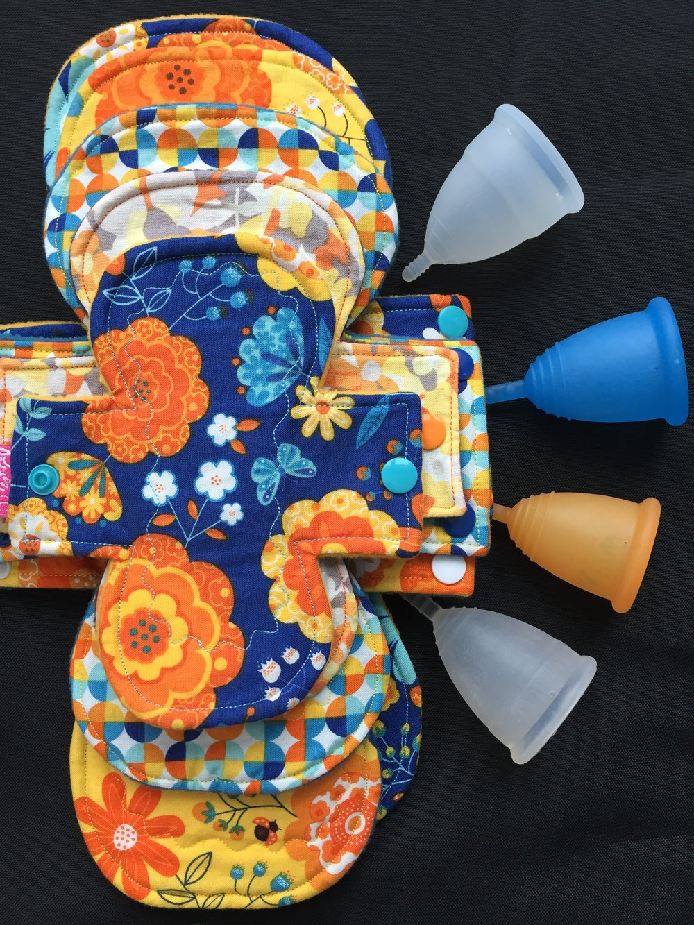 With just a little time and care, your cloth pads and menstrual cups can give you a hassle-free and waste-free period for years to come... -