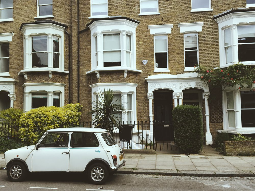 A street in Hampstead.