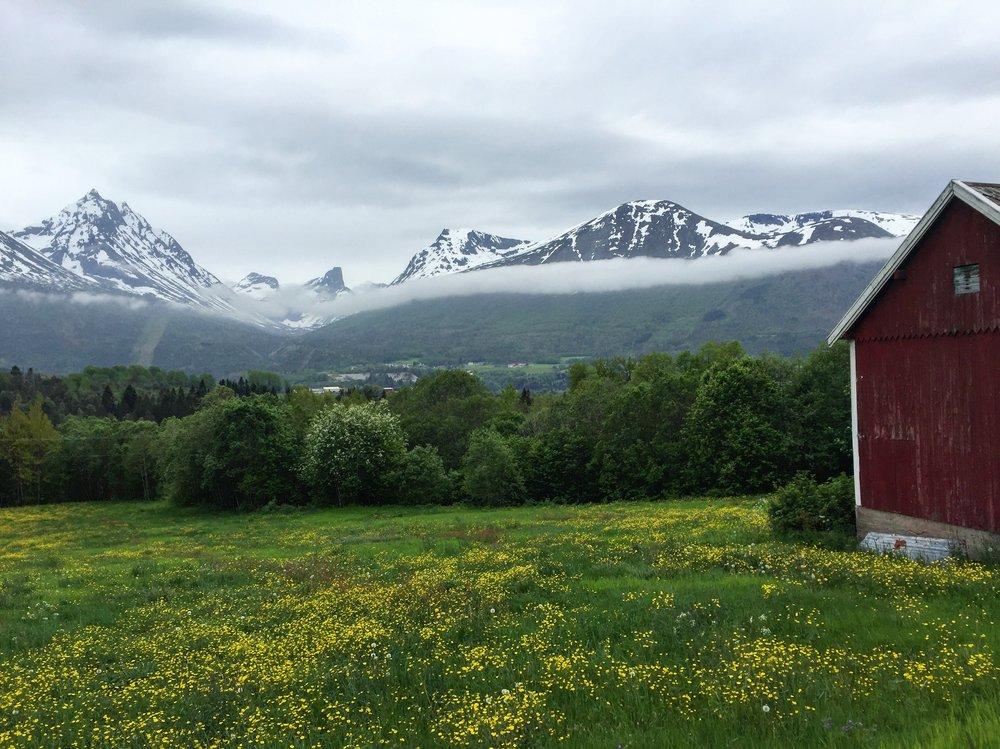 Isfjorden, Norway.