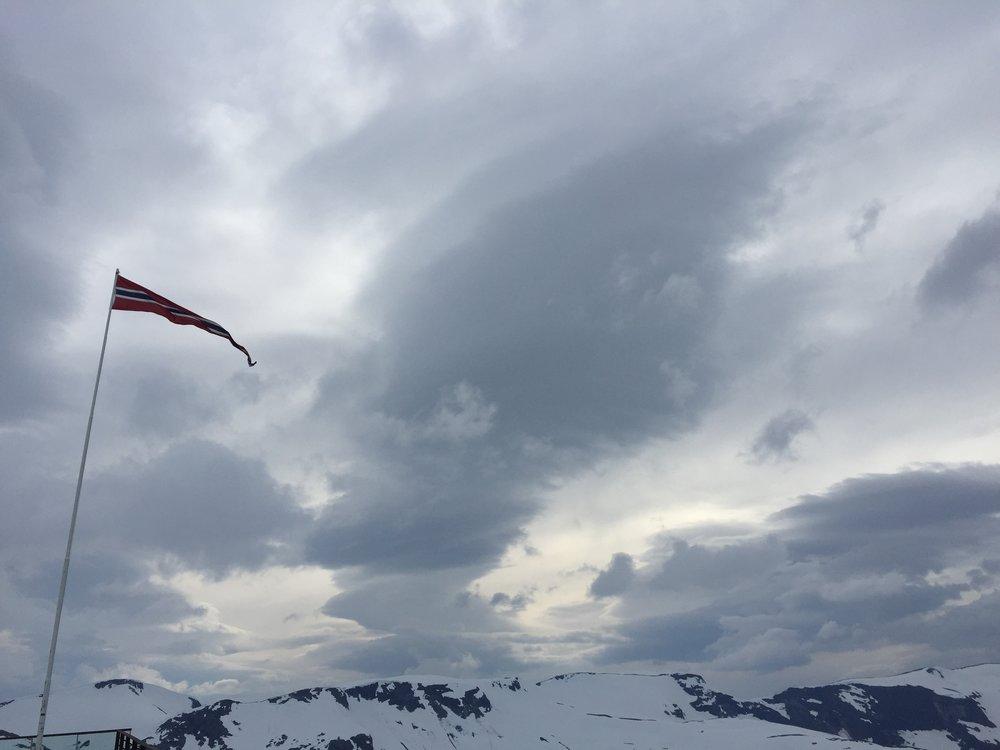 Dalsnibba peak, Norway.