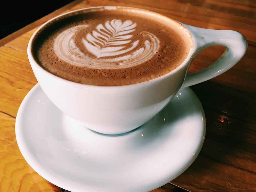 Mocha at Valentine Coffee