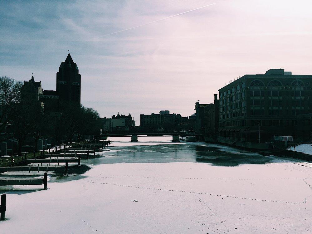 Why do people walk on frozen rivers!!! That seems dangerous!!!