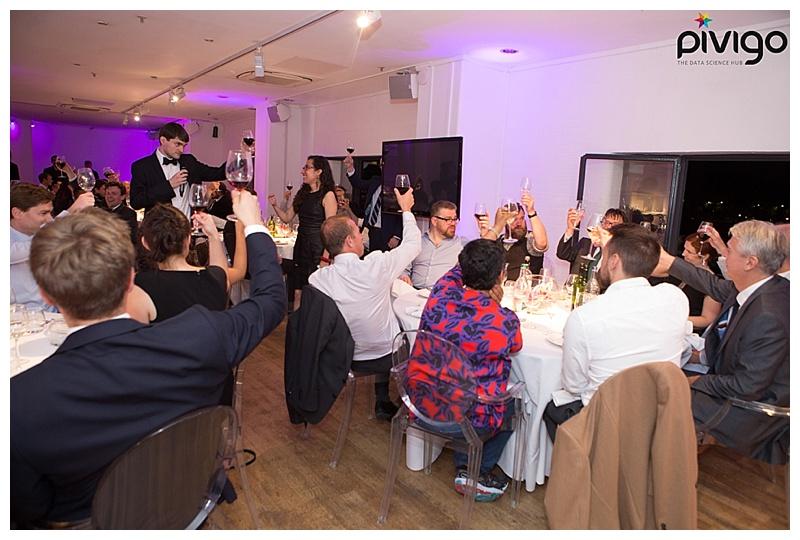 Pivigo S2DS Graduation Dinner at OXO2 Tower, London