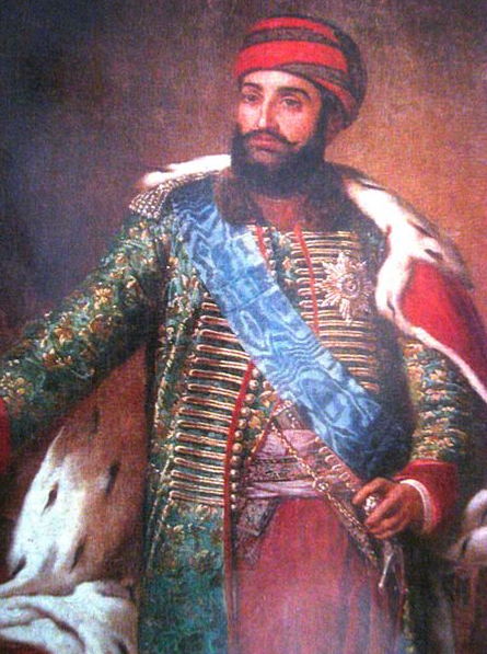 King Iraklii II of Georgia.