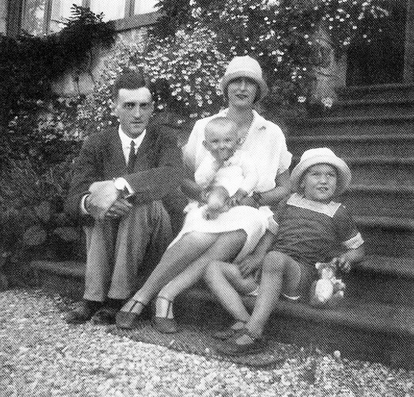 HH Prince Roman Petrovich of Russia, with his wife Praskovia and his sons, Nicholas and Dimitri.