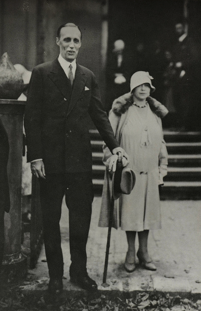 HIH Grand Duke Gavriil Constantinovich of Russia, and his wife, Princess Strelninskaya.