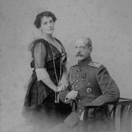 Princess Paley and Grand Duke Paul, ca. 1900