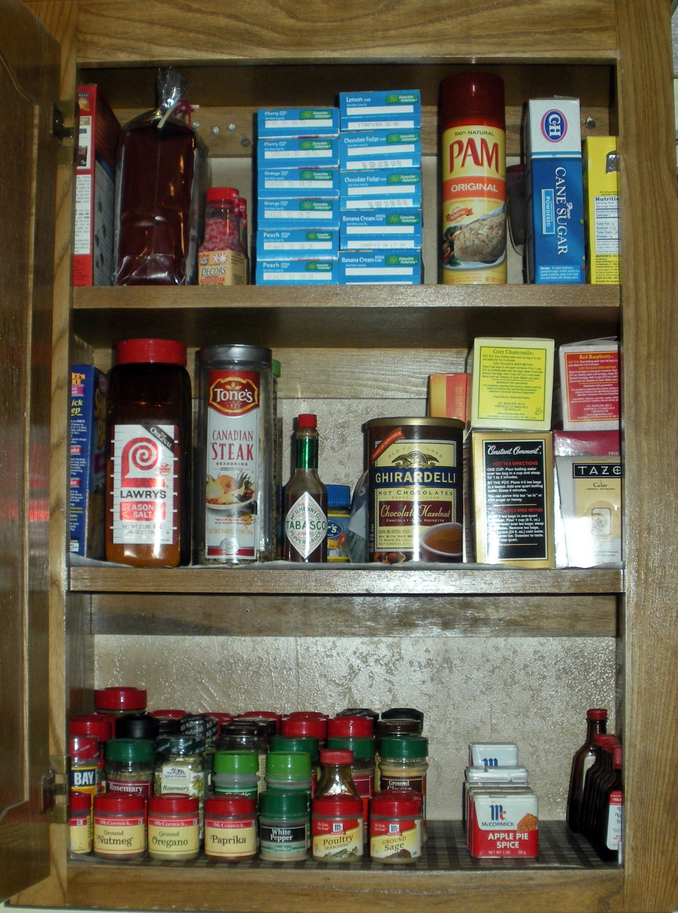 Organizing Project: Kitchen Cabinet — A Side of Fabulous