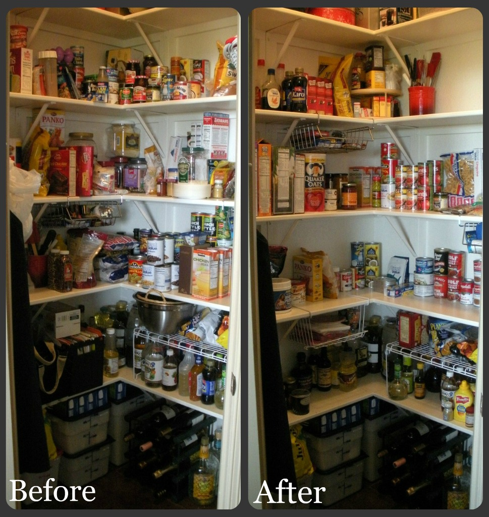 Pantry - Before/After