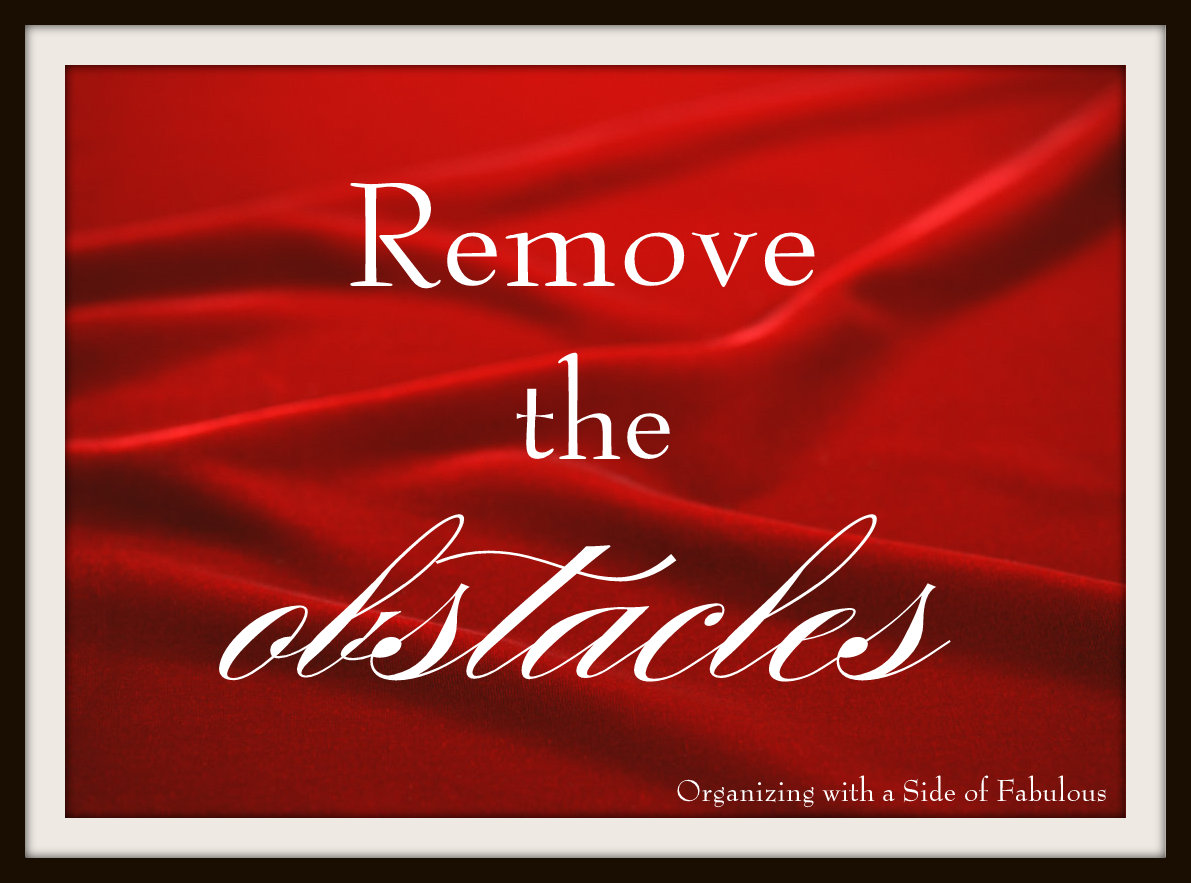Remove the Obstacles