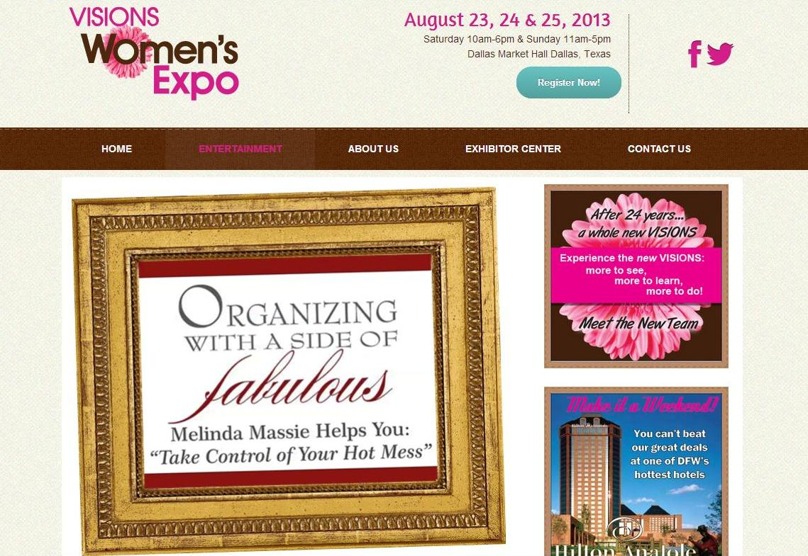 Visions  Women's Expo 2013