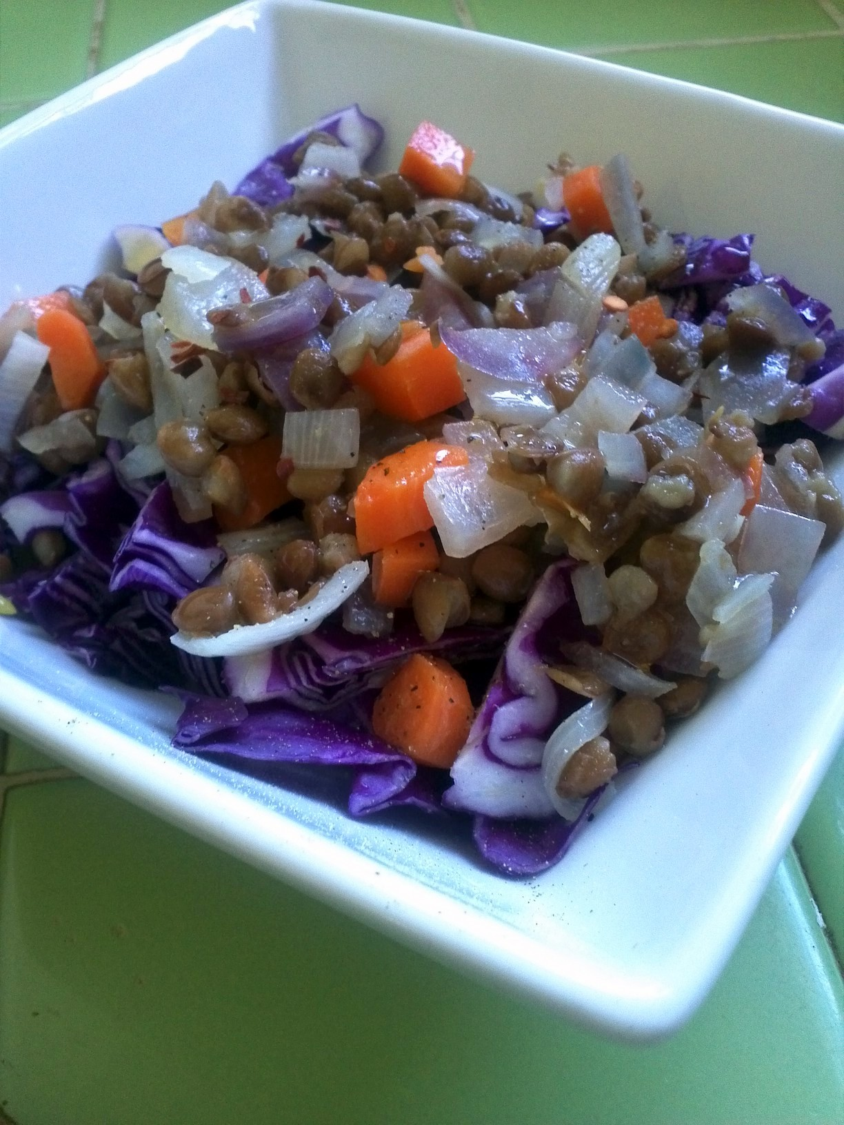 Lentil Salad - Organizing with a Side of Fabulous blog