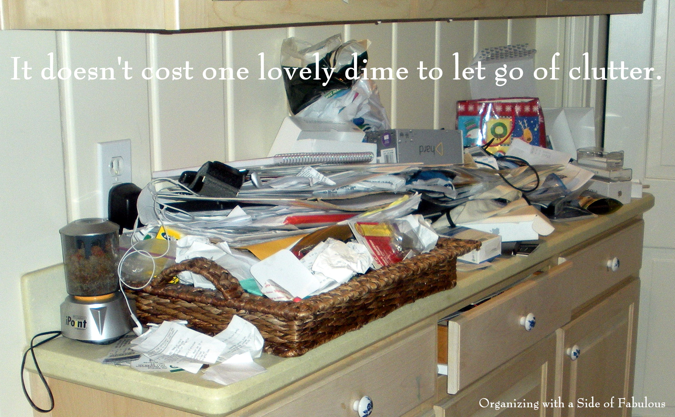 Organizing on a Budget? - Organizing with a Side of Fabulous blog