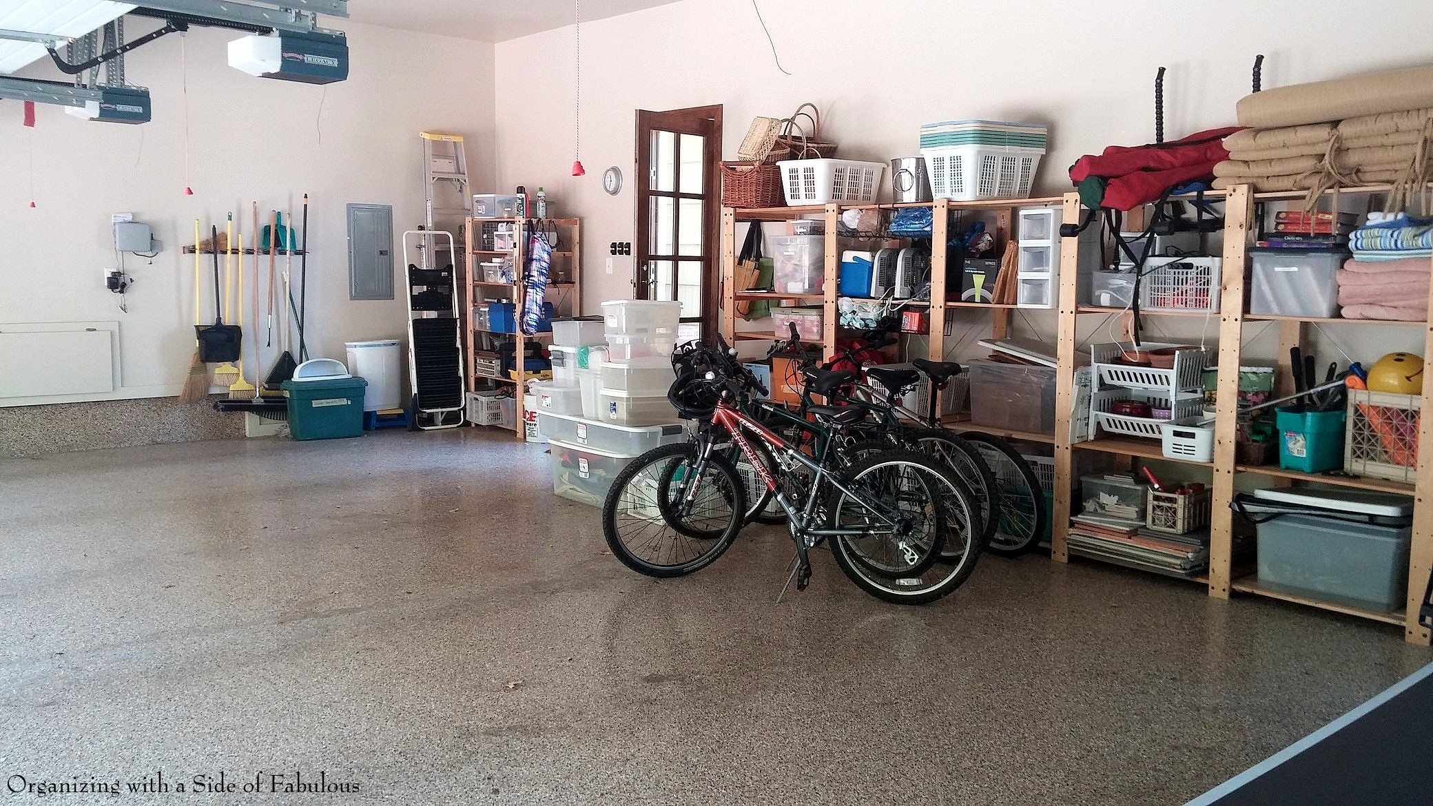 Garage Organization After - Organizing with a Side of Fabulous Blog
